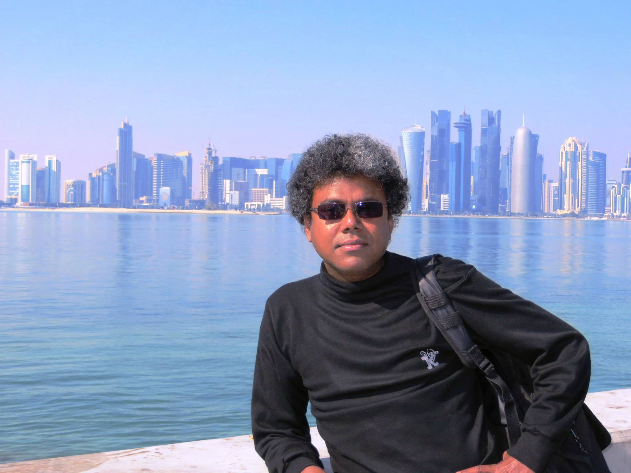 Rudrasankar's poetry is a sophisticated combination of self